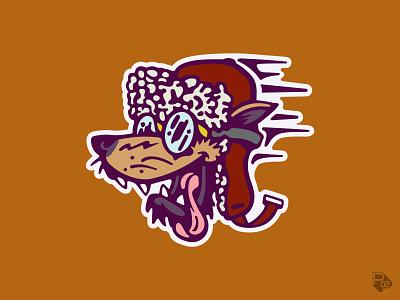 Bird Dogs bird dogs dogs clink room graphic design design baseball identity sports logo vector illustration illustrator