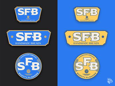 Scotty Fn Bakes Branding handmade bread making texas bread design lettering graphic design identity logo vector branding illustrator