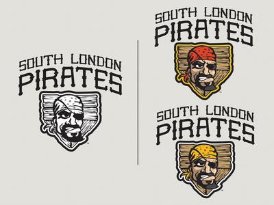 S. London Pirates Main Logo Final