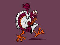 Thems' Fightin' Birds You Turkey!