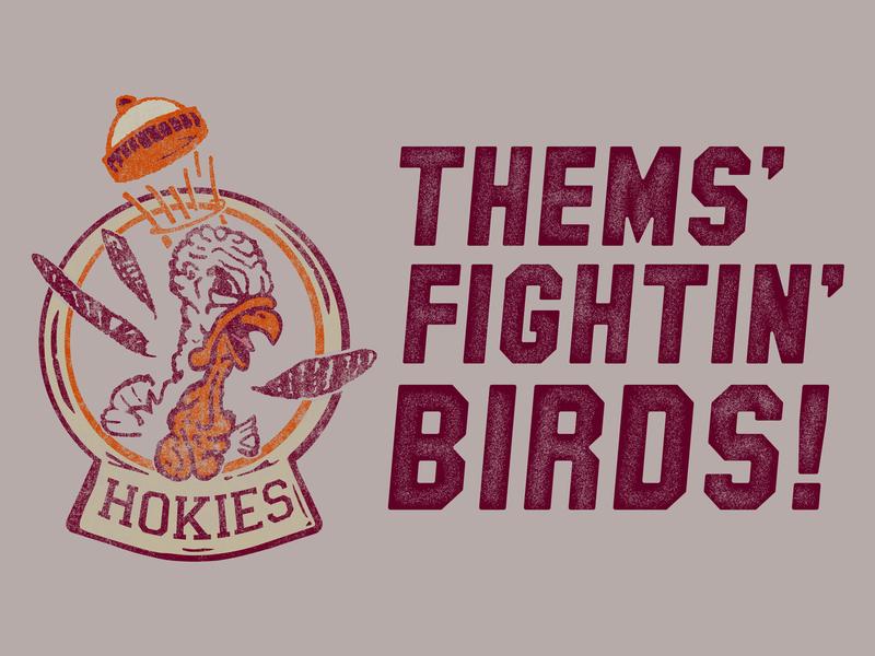 Thems Fightin Birds By Player02 Branding Design Dribbble