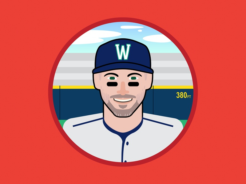 Self Portrait Set - 2 branding design sports graphic design vector baseball illustration illustrator