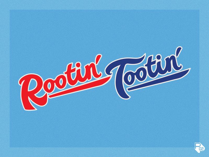 Rootin' Tootin' Wordmark