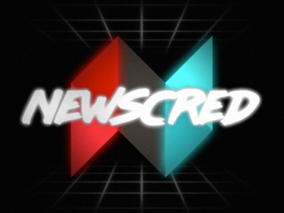 NewsCred 80s Animation stranger things after effects tech nostalgia retro glow grain newscred animation 80s