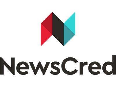 NewsCred content workmark cera typography tech logomark icon logo