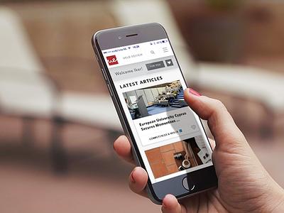 University of Europe Laureate Digital marketing cms content education personal ui ux mobile