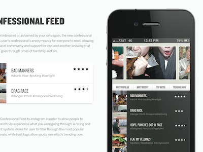 The Confessional App