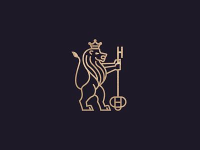 Lion simple lineart minimal lionlogo lion