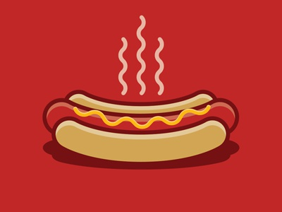 The Hot Dog Illustration