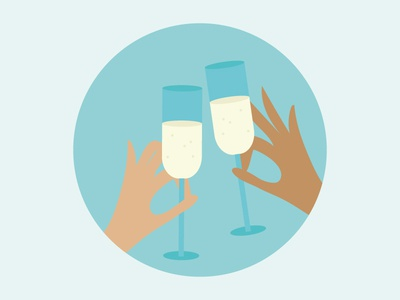 Celebrate Life hands cheers life champaign celebrate