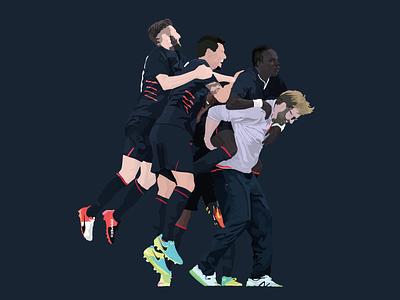 Boom. vector illustration ynwa football klopp liverpoolfc liverpool lfc