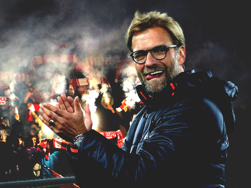 Jurgen Klopp x Spartak Moscow football design edit photo poster photoshop lfc liverpool