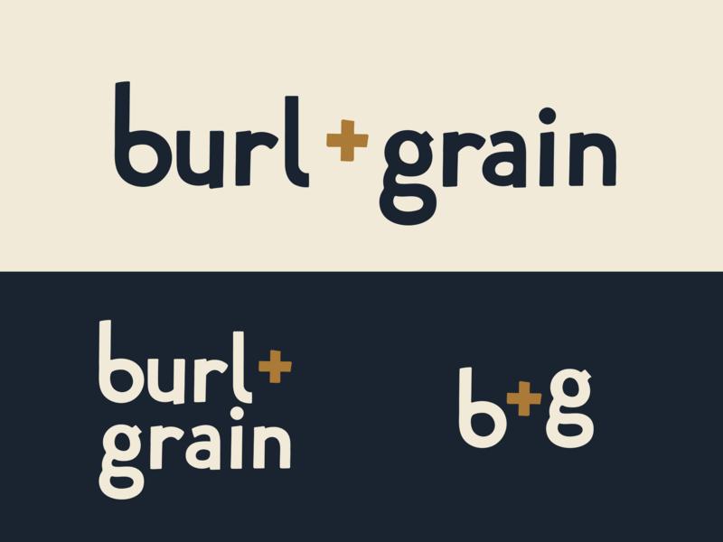 B & G identity lettering type hand lettering logo branding typography