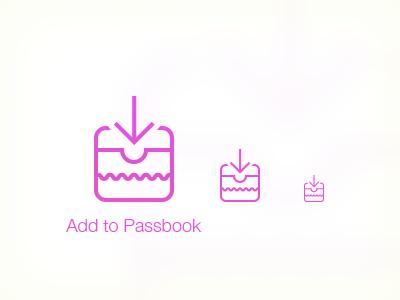 Add To Passbook iOS7 Icon icon ios7