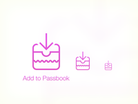 Add To Passbook iOS7 Icon