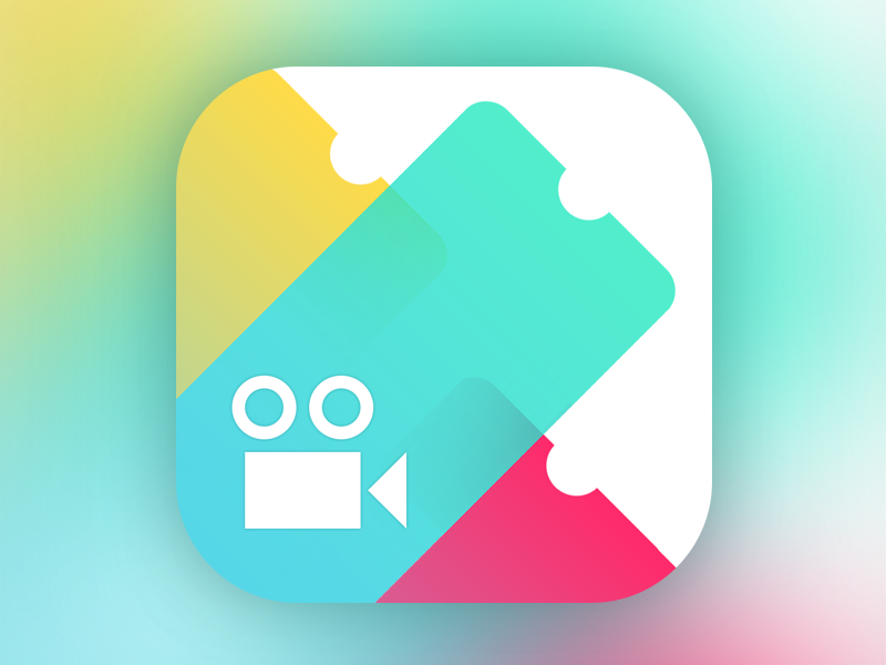 CineApp iOS Icon icon ios cinema
