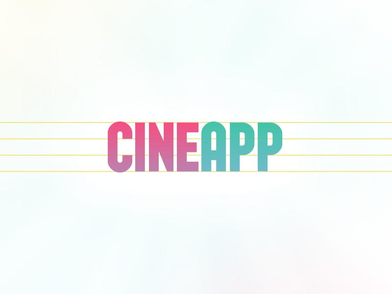 CineApp Logo Type logo cinema
