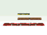 Berlin Trains And Bus Types