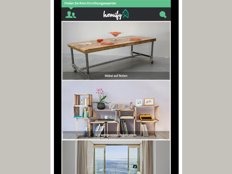 Homify Home (Mobile) responsive home