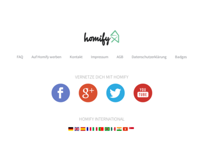 Homify Footer Realign