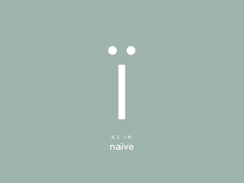 Door № 9: ï type lettering typeface typeface design type design typography
