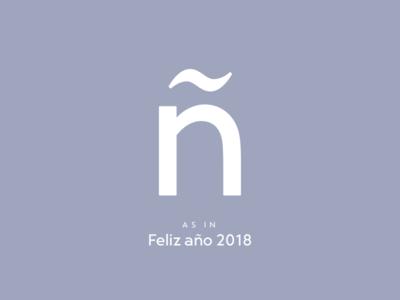 Typography Advent Calendar: ñ