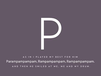 Parampampampam advent calendar advent christmas typeface design type design typography