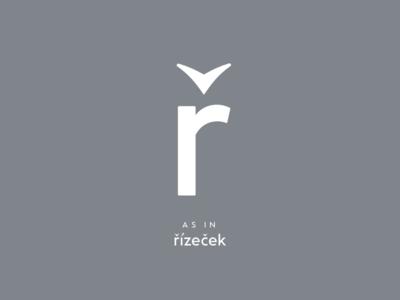 Czech typography: ř