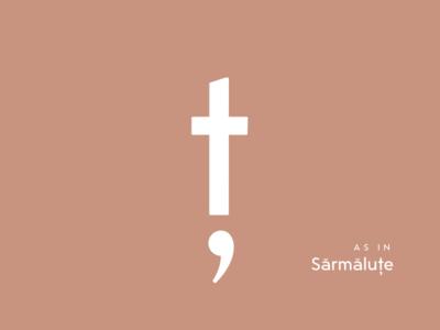 Typography Advent Calendar: Ț