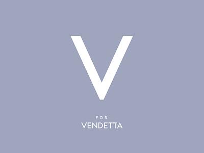 Typography Advent Calendar: V poster vendetta movie type lettering typeface typeface design type design typography
