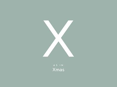 X D xmas christmas weihnachten lettering typeface typeface design type design typography