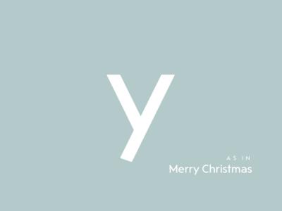 Typography Advent Calendar: Y