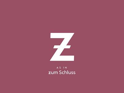 Typography Advent Calendar: Z german xmas christmas weihnachten lettering typeface typeface design type design typography