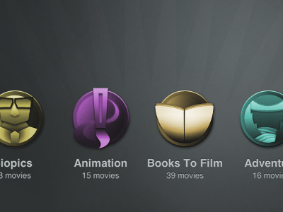 Movie Channel Icons icons