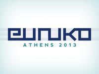 Euruko Athens 2013 Logo Draft