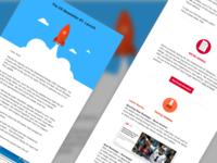 UX Newsletter  #1 Launch