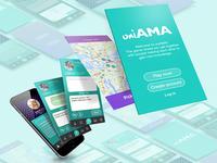 uniAMA - App Design