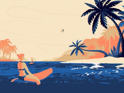 PALOMA Short film (Beach)