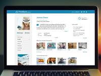 TimeBank Profile Page
