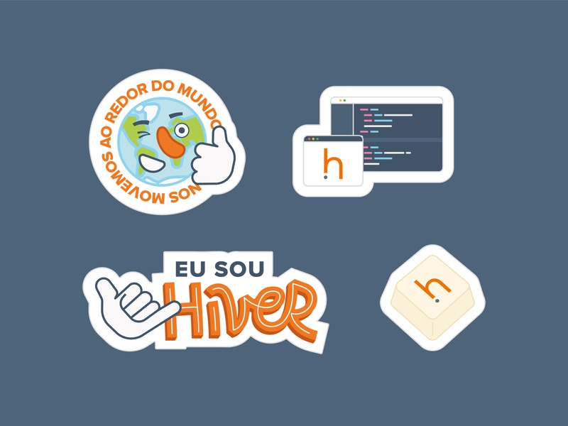 Hivecloud - Stickers