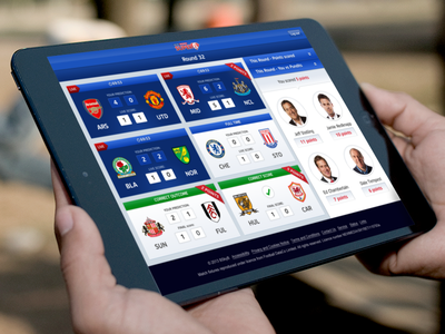 Super 6 - Live Scores flag betting mobile ui sky sky sports super 6 football blue score soccer