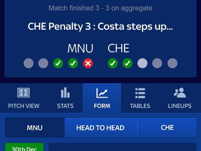 Sky Bet - In Play Football Betting penalties sports live soccer football betting