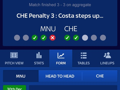 Sky Bet - In Play Football Betting