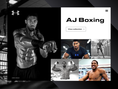 AJ Boxing for Under Armour