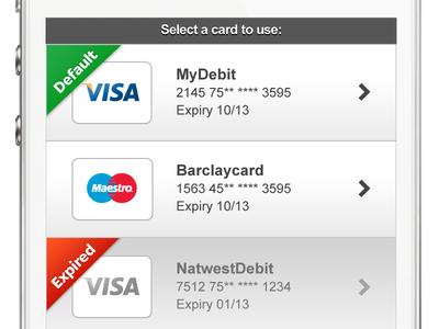 Deposit - Switch Payment Method