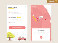 Order Status Page