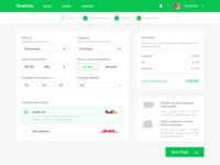 Shipping App Concept