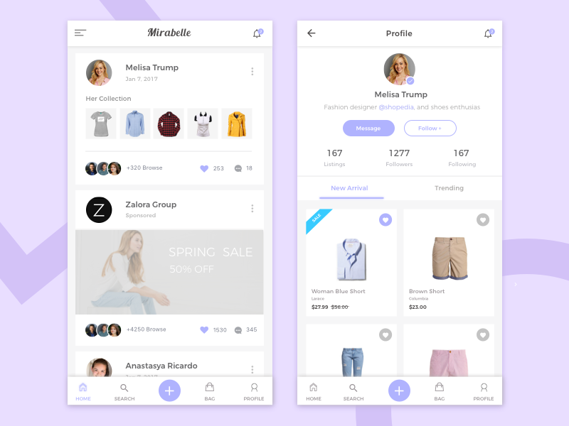 Social shopping app ux ui ecommerce experience invitation illustration fashion interaction welcome screen application  cool page ios iphone shop product web website awesome minimalist clean edit character android material