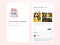 Simple Foodfans Mobile Concept
