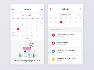 Calendar Activity ios android logo calendar activity illustration house office bukalapak mobile landing character icon
